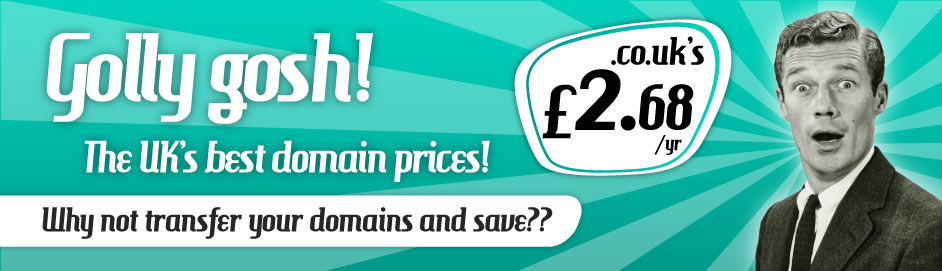 Cheapest UK Domain Names